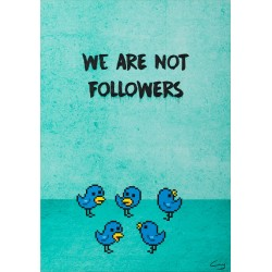 We are not followers