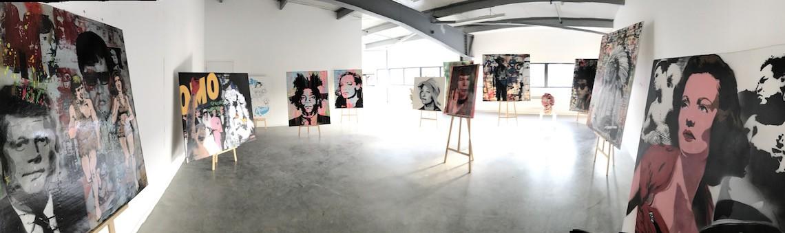 Exposition d'oeuvres  à la POHIEL GALLERY